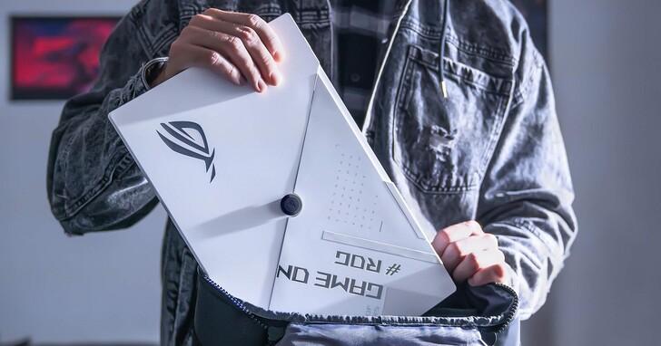 可攜式電競螢幕又一款,ROG 帶來純白版 Strix XG16 144Hz