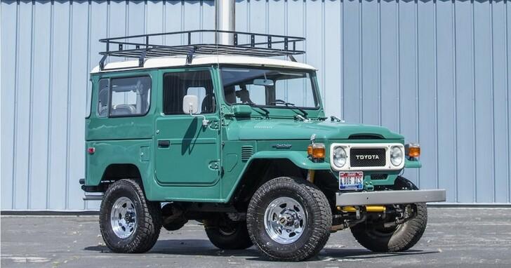 湯姆漢克拍賣愛車,經典90年代TOYOTA Land Cruiser越野車