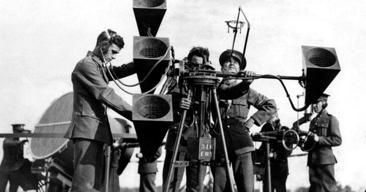 聲音被定義為一種戰術武器!人類戰爭中的聲音定位科學