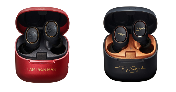 漫威迷必收!鐵三角發表 ATH-MVL2 鋼鐵人聯名系列真無線耳機,售價 $4,200 元