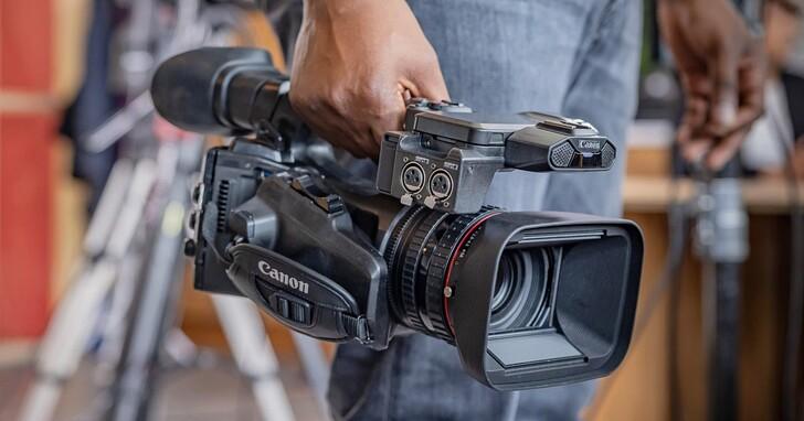 Canon 推出輕巧型廣播級 4K 攝影機 XF605,具備 4K 60P 4:2:2 10-bit 錄製規格