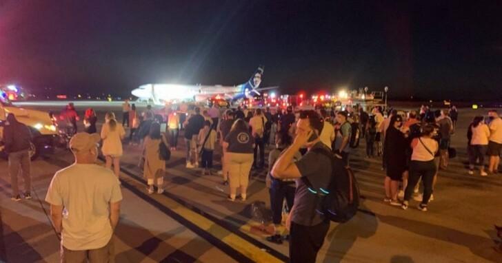 美國航空公司在一部手機爆燃後緊急疏散飛機上的乘客,疑為三星手機