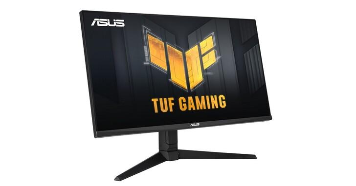 華碩 TUF Gaming VG28UQL1A 144Hz 電競螢幕上市,配備 HDMI 2.1 連接埠,完整相容於次世代遊戲機