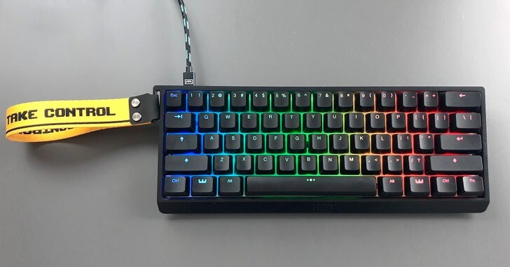 Wooting推出全新60HE磁力軸類比鍵盤,60%尺寸方便隨身帶著走