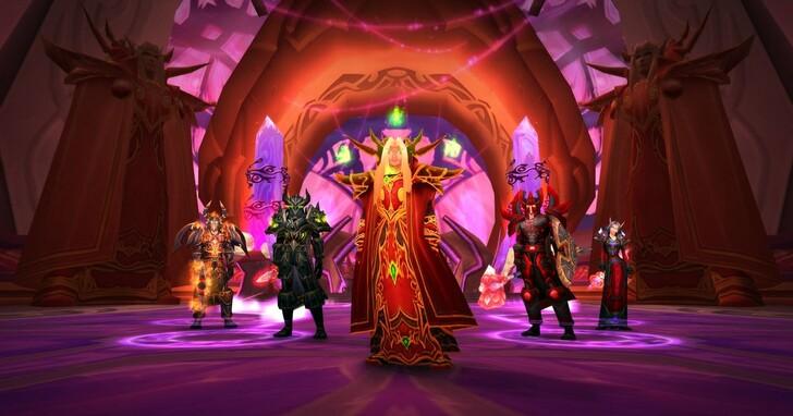《魔獸世界:燃燒的遠征》經典版將於9月16日推出大型更新《外域霸主》
