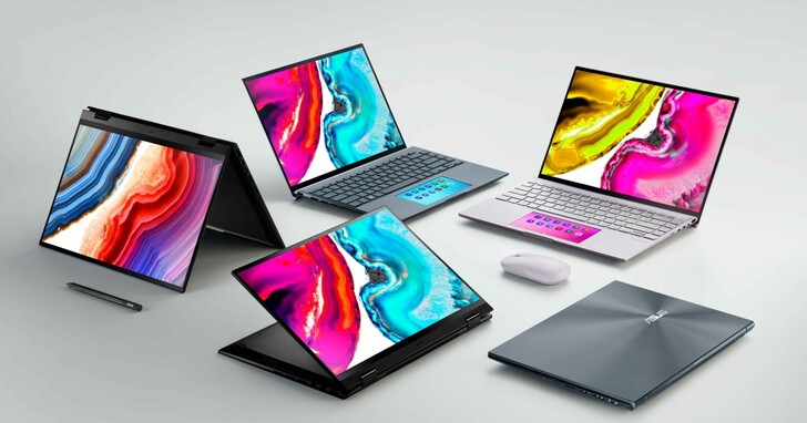 ASUS Zenbook Pro、Vivobook Pro / Pro X、 ExpertBook B5 搭載 OLED 螢幕,全系列支援 Windows 11