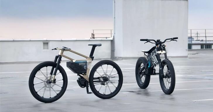 著眼電動自行車和摩托的未來移動,BMW展示了兩款電動摩托概念車