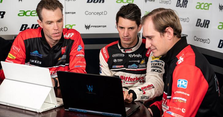 宏碁打造澳洲職業賽車BJR車隊數位平台