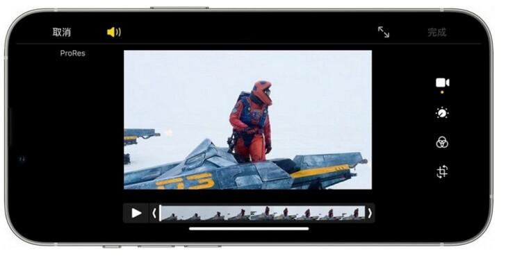 你想要體驗 4K 高畫質的 ProRes 錄影功能? 至少要買256GB以上的iPhone 13 Pro系列