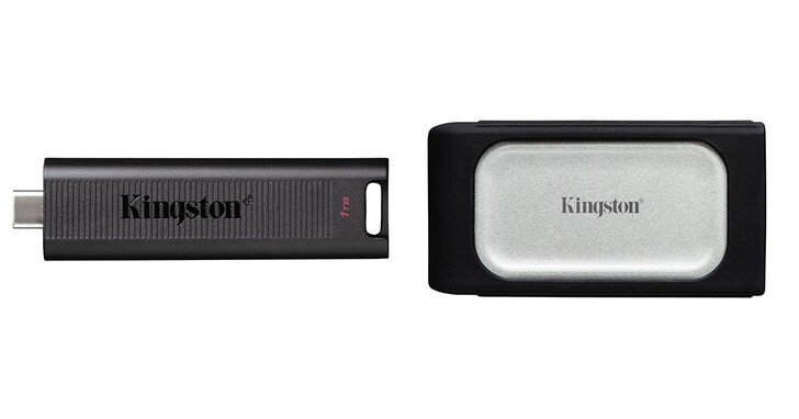 金士頓推出首款外接式行動固態硬碟XS2000、旗艦級隨身碟DT Max