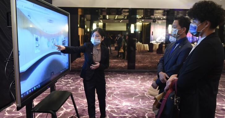 外貿協會建置「臺灣線上虛擬展館」,提供廠商360度商品展示及工廠環景