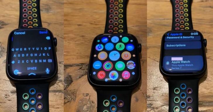 蘋果 Apple Watch Series 7 真機照曝光,國內 10 月 8 日開放預訂