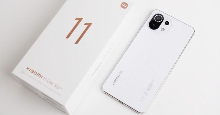 小米 11 Lite 5G NE 開箱,你要輕薄手感還是性能?價格萬元不到一次擁有