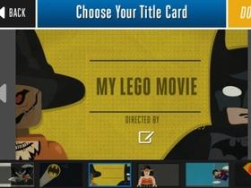 用 iPhone 拍 LEGO 超級英雄電影!LEGO 官方 App 讓你自己做