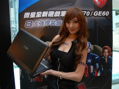 msi Ivy Bridge 筆電登場:GT70、GE60 遊戲筆電來了