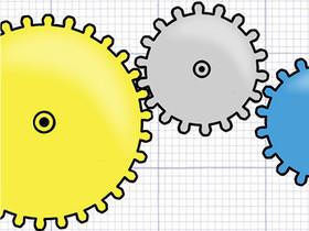 Geared:讓齒輪轉動,考驗空間感的益智遊戲 APP