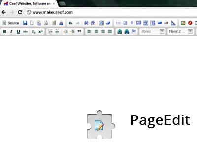 PageEdit:免學HTML,直接用瀏覽器編輯網頁