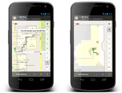 Android  版 Google Maps 推出 Offers 優惠資訊、室內步行導航功能
