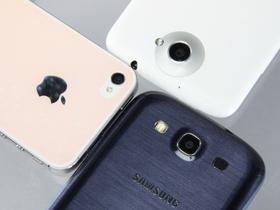 GALAXY S3、One X、Xperia S、iPhone 4S 你選哪一隻?