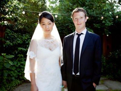 Facebook 成功上市!帶著5000多億身家,執行長馬克結婚了
