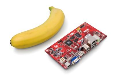 VIA 推千元級迷你電腦,APC 8750 比香蕉還要小
