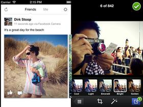 Facebook Camera 相機 App 來了,拍照、濾鏡、批次上傳通通有
