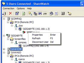用 ShareWatch 輕鬆查看分享了那些資料夾或檔案,方便進行管理