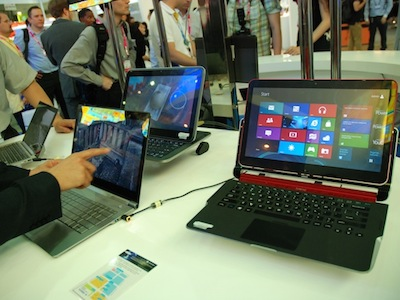 Computex 2012:Intel Ultrabook 概念機,觸控滑蓋樣樣來