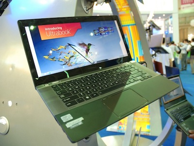 Computex 2012:好長的螢幕,Toshiba Satellite U845W 給你不同的 Ultrabook