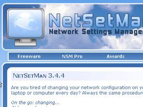 NetSetMan:快速更換網路設定,筆電上網族推薦好物
