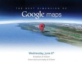 Google 地圖推出離線地圖功能、Google Earth 全新 3D 效果