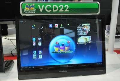 Computex 2012:22 吋 Android 平板,切西瓜會很累、玩憤怒鳥會很爽
