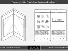 Samsung 多螢幕摺疊行動裝置, 無接縫雙螢幕、摺疊卡榫設計流出