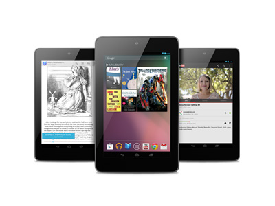 Google I/O 2012:Nexus 7 平板登場,搭載 Android 4.1 Jelly Bean、低價搶市