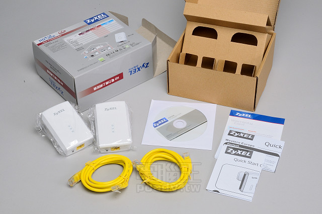 1000Mbps 更快,ZyXEL PLA5206 電力線上網設備實測體驗