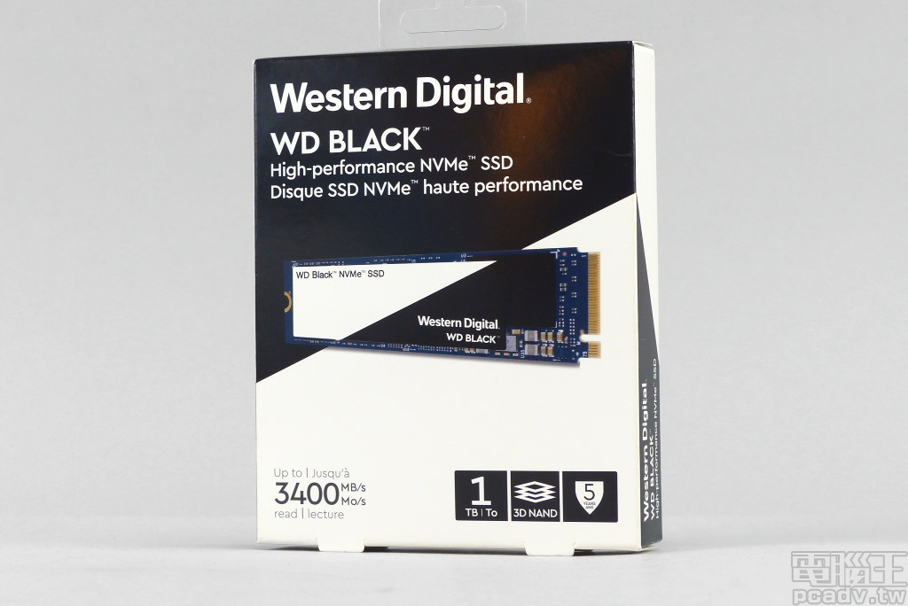 Western Digital WD Black NVMe SSD
