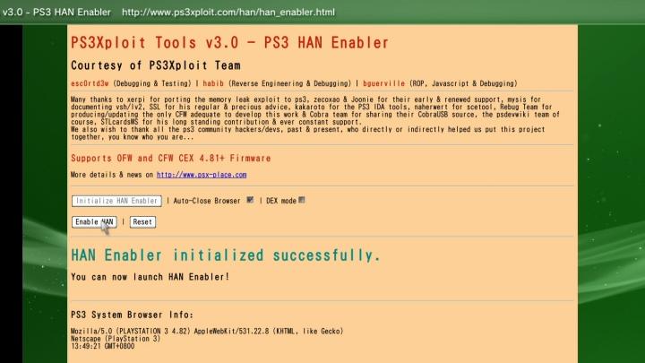 PS3改造手冊《十一》:在無法安裝自製韌體的主機上使用HAN破解工具  T客邦