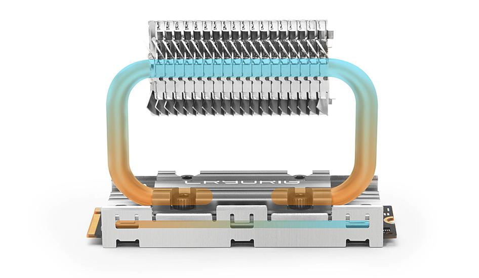 M.2 NVMe SSD 再也不熱了!Cryorig 將於 Computex 展出雙熱導管 Frostbit 散熱器