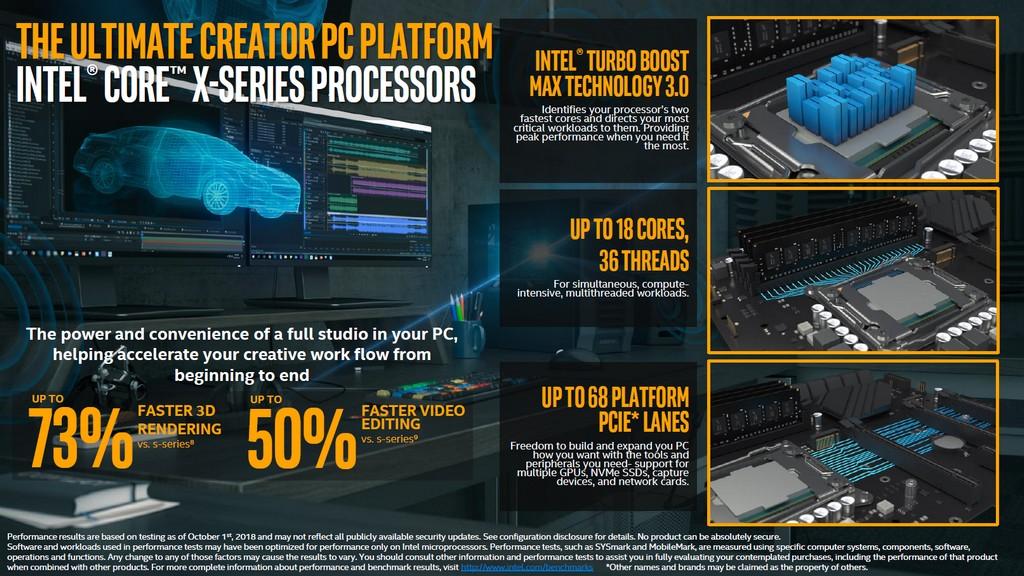 Intel Core i9-9980XE 處理器效能搶先看,全核心有機會超頻至4 6GHz 以上
