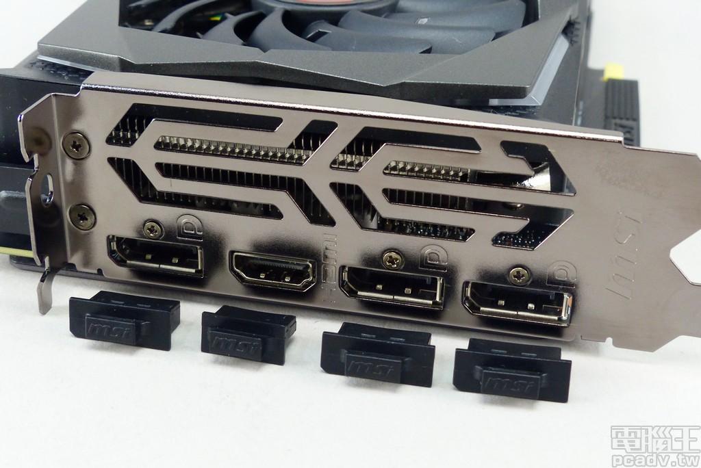 視訊輸出埠採用 3 個 DisplayPort 1.4 與 1 個 HDMI 2.0