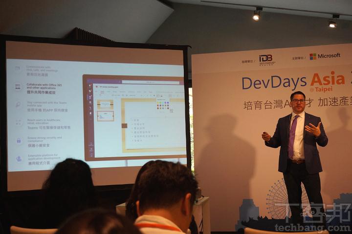 微軟 Office 生態系資深產品行銷經理 Daniel Canning