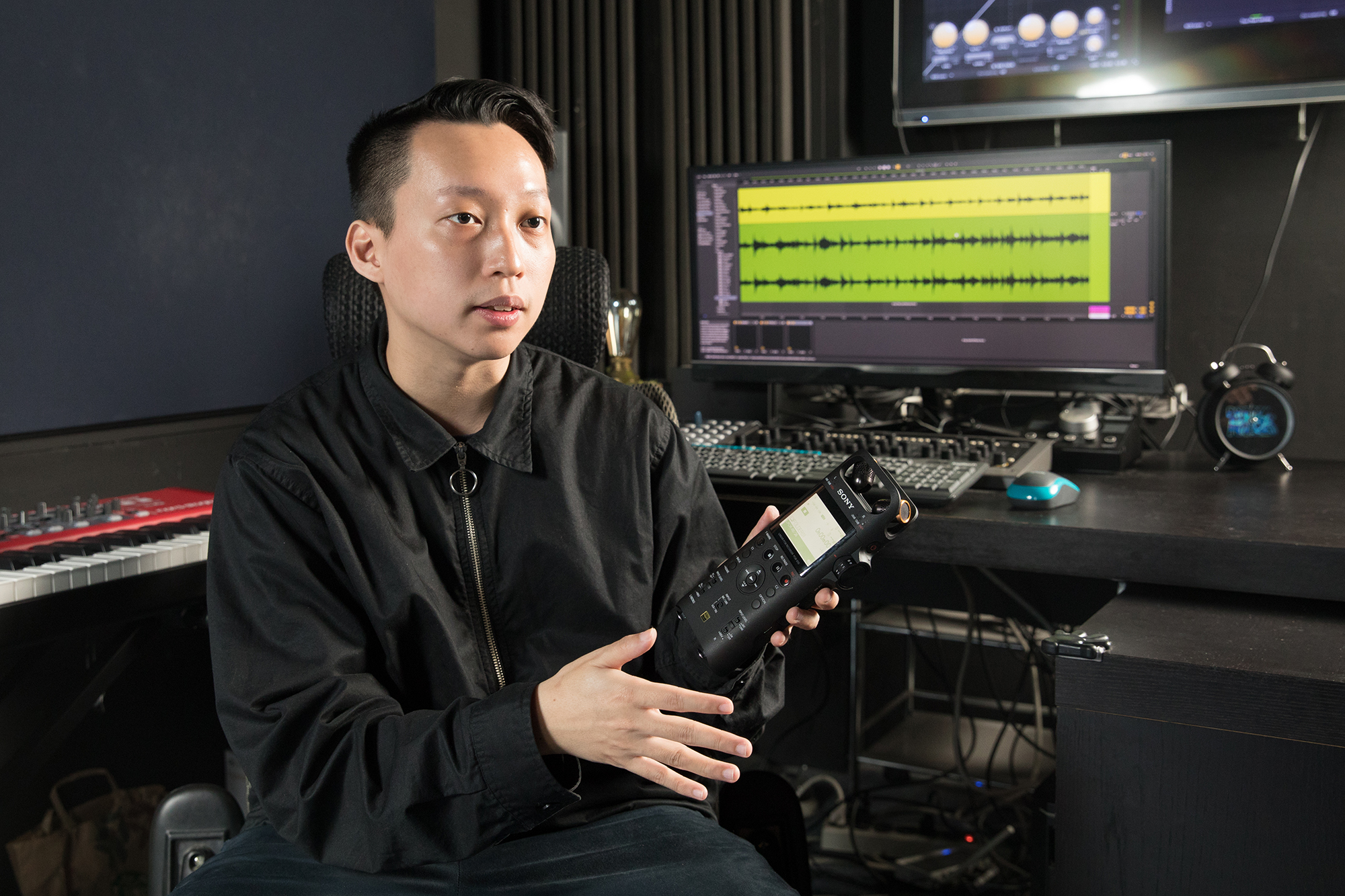 Sony PCM-D10 之所以能錄製令人滿意的音質,最大關鍵在於支援 192 kHz/24 位元高解析音訊,同時還�載三向式內建麥克風。