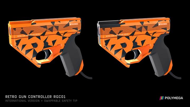 國際版的的配色相當花俏,槍口是否為橘色已經不重要了。