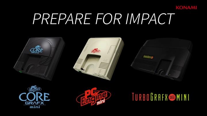 迷你PC-Engine總共會推出日、美、歐等3種不同造型版本。