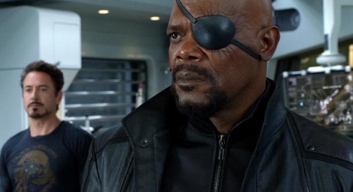 《蜘蛛人:離家日》戲院海報將眼罩戴錯邊,山繆傑克森:???
