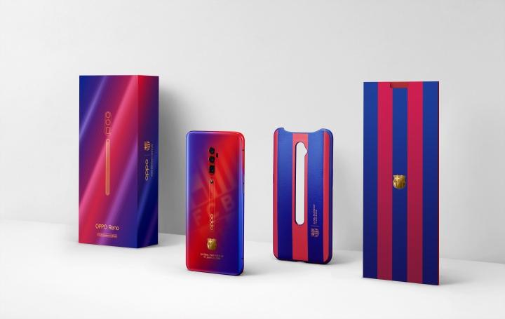 OPPO 再推巴薩限量版手機,Reno 紅藍新風貌登場