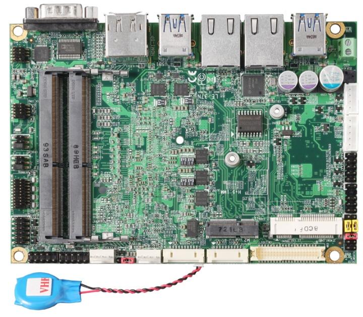 大部分的內接插槽與端�都位於主機板�面。