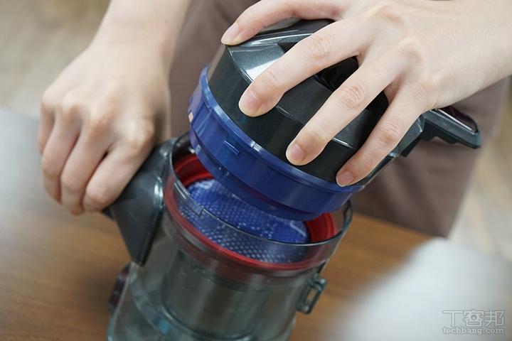 主機可以分解拆卸,金屬濾網和MIF 高精度過濾網都可水洗。