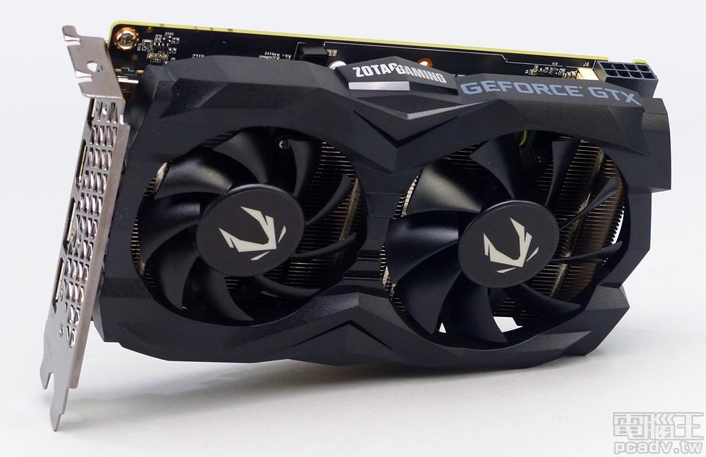 ▲ ZOTAC Gaming GeForce GTX 1660 Super 6GB 192bit GDDR6 顯示卡採用雙槽位 Mini-ITX 外型�計。