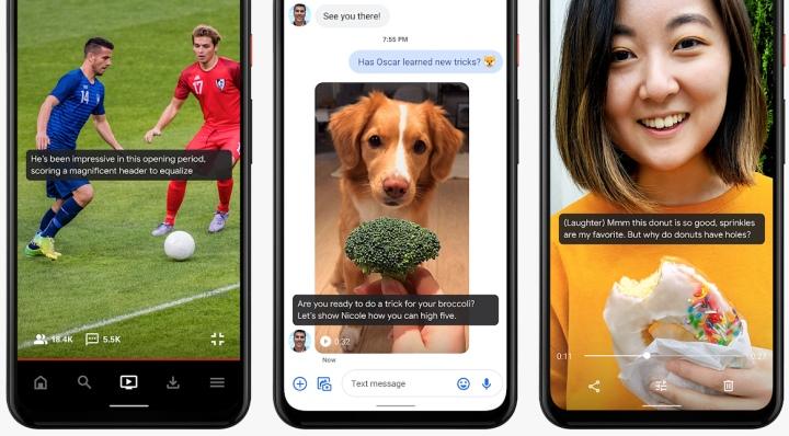 Live Caption屬於系統層級的功能,因�可以跨越不同的App�使用。